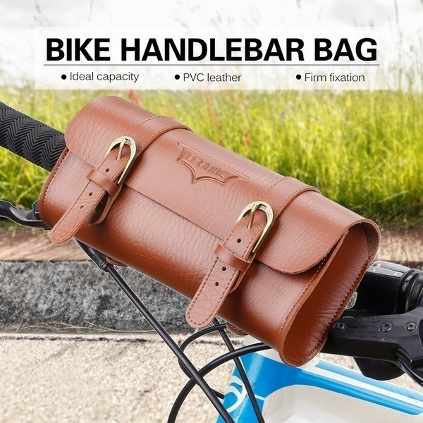 Qoo10 Bike Front Handlebar Basket 1 2l Bike Front Handlebar Bag Bicycle Hand Computer Game