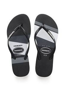 Havaianas Slim Stripes Sandal Black/Black