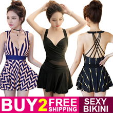Buy 2 Free Shipping Women Sexy Bikini Swimwear Ladies Swimming Wear 2pcs 3pcs 4pcs suit 2017 New