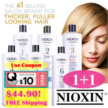 ⭐️ $44.90 for 2! ⭐️ NIOXIN Professional Salon-Exclusive Shampoo/Conditioners 1000ml.