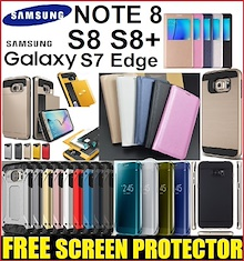 ★ Samsung Galaxy Note 8 / S8+ / S8 Plus / S7 S7 Edge Note 7 5 4 3 2 S6 S4 S3 Phone Case Casing Cover