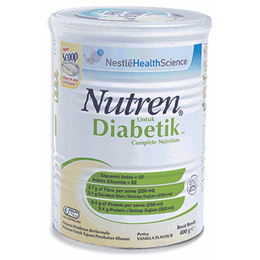 Nestle Nutren Diabetik Complete Nutrition 800g (Vanilla) - 2 units in one shipping rate
