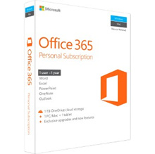 Office 365 Personal l Retail Box Version
