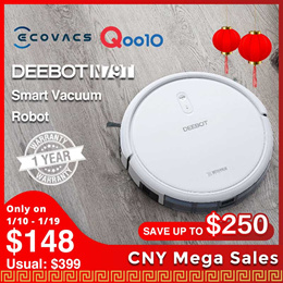 ECOVACS DEEBOT N79T / App Control / Robot Vacuum  Cleaner with 1 Year  Local  Warranty