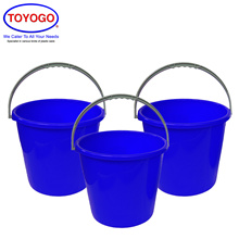 Toyogo 4 Gallon Plastic Pail (Bundle of 3) (4004)