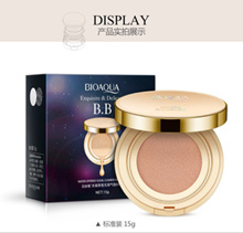 ( NO 1 DUS HITAM ) BEDAK BIOAQUA BB CREAM CUSHION EXQUISITE  DELICATE SJ0065