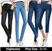 New Arrival 1/11--264/268 Korea fashion elastic highwaist/midwaist JEANS [ NEW STYLE ] Skinny Slim Fit Design