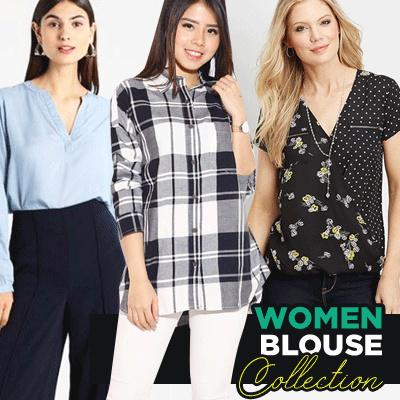 NEW WOMEN SHIRT/BLOUSE-BEST SELLER KEMEJA/BLOUSE WANITA Deals for only Rp49.000 instead of Rp49.000