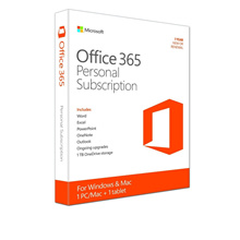 Office 365 Personal 1 Year Subscription Retail Copy for Windows/Mac Free Delivery