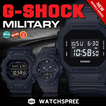 *CASIO GENUINE* G-SHOCK MILITARY SERIES. Black Out Condura Series. DW5600 DW6900. Free Shipping!