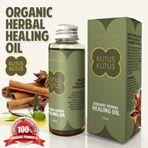 Kutus Kutus Organic Herbal Healing Oil Original From Bali 100ml Mengatasi 63 Penyakit Best Seller