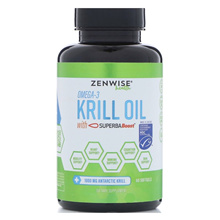 Zenwise Health, Omega 3, Krill Oil with Super Boost, 60 Softgels