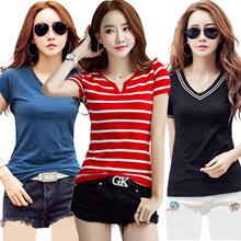 Cotton short sleeve T-shirt/tops/Printed T-shirts/Long sleeve/Casual t-shirt/summer/autumn