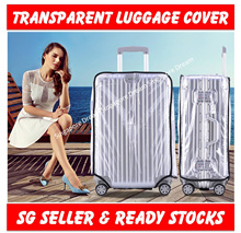 Transparent PVC Luggage Cover / Protective Cover Case /Travel Luggage Cover/Suitcase Cover Protector