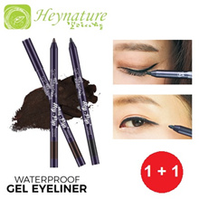 1+1 [★Heynature Official E-Store★] KOREA Hey-Pop Waterproof Gel Eyeliner (0.5g) ❤ 2 Colours ❤ No. 1
