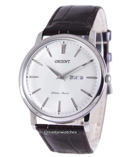 [CreationWatches] Orient Quartz Domed Crystal FUG1R003W6 Men s Watch