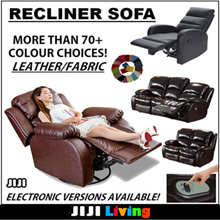 ◣CUSTOMIZATION◥ ★RECLINER SOFA ★Recliner Chair ★1-Seater ★Premium Couch ★Sofabed ★Living Room
