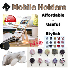 ✪Mobile Stands / Grips ✪ - Universal Phone/Tablet Holder【Local SG Seller】PROMO $3.99!!