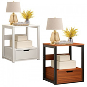 Multifunctional Nordic Minimalist Creative Bedside Table Dormitory Small Cabinet Bedroom Bedside Wit