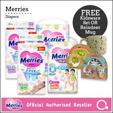 [Kao]【Bundle of 2】Merries Diapers - Tape/ Pants | Premium diapers made in Japan