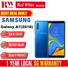 Samsung A7 (2018) 4Gb Ram 128gb Rom (Black/Blue/Pink) Local Warranty