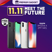 Apple iPhone X 64GB/256GB (Apple Malaysia)