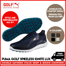 PUMA GOLF Men Ignite Spikeless Lux Footwear - 4 Colors to Choose From ★ FREE DELIVERY ★ AUTHENTIC