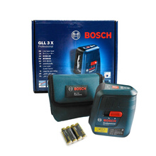 Bosch GLL 3X Professional Compact 3-line Laser New