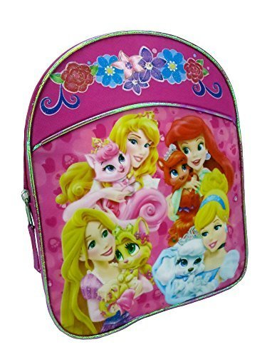 Qoo10 - Disney Princess Palace Pets Children Backpack Kids Mini ... 99936bfbd8872
