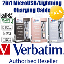 2-Year Warranty 2in1 Lightning Mini Micro Type C USB3.0 Fast Speedy Charging Cable Samsung Charger