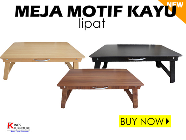 (DAILY SALE) Meja Lipat Multifungsi/Meja Dewasa/Laptop/Folding Table/Modern Deals for only Rp227.040 instead of Rp227.040