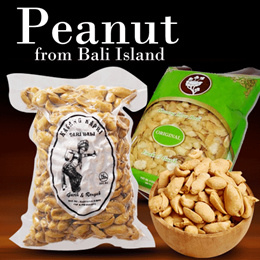 Popular items in Bali Island! Peanuts / A soggy flavor and a chewy gem! SG