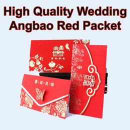 [ High Quality ] Wedding Red Packet / AngBao / Ang Pow / Red Packets/ Hong Bao/ Wedding Ceremony