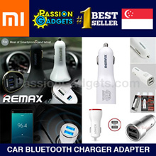 Original Xiaomi ROIDMI 2S/ 3S Car Bluetooth Charger Adapter FM Transmitter/5V 3.1A Fast Charg