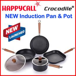 ◆2019 New◆Happycall Korea IH Frying Wok Pan Pot Set for Induction Made in Korea