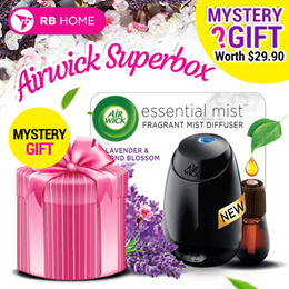 1 x Air Wick Lavender and Almond Blossom Essential Mist Fragrance Diffuser Starter Kit