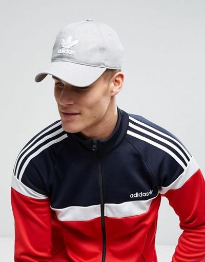 Qoo10 - adidas Originals Trefoil Cap In Gray BK7282   Fashion ... bfb3fab3153e