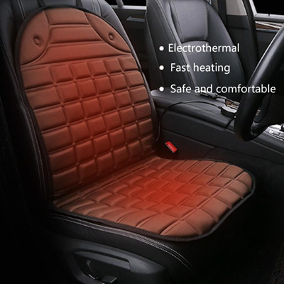 Universal 12v Car Heated Warmer Pad Heating Seat Cushion Back Support High Quality Styling