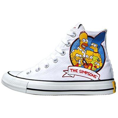 ładne buty popularne sklepy jakość Direct from Germany - Converse Chucks All Stars Chuck Taylor x Simpsons  Limited Edition Size: EU 42 UK 8,5 Color: White