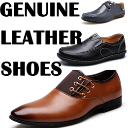 2017 Genuine Leather Shoes Mens Causal shoes Formal shoes men dress shoes Leisure Fashion shoes