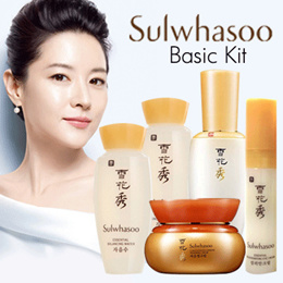 Sulwhasoo Basic Kit 4 Items/ Kit 5 Items/ Kit 7 Items/ Nok Yong Pack Mask x10 pcs★