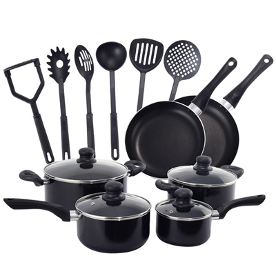16 Piece Non Stick Cooking Kitchen Cookware Set Pots And Pans Kitchen Set