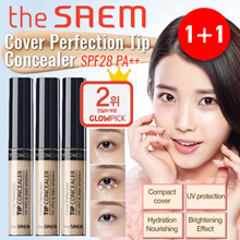 [U.P. $25.80] 1+1 SPECIAL!! BEST SELLER!! THE SAEM Cover Perfection Concealer Tip Concealer