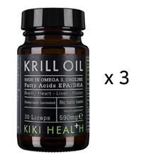 KIKI KRILL OIL KIK047 3pk