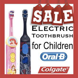 Oral B Pro Health Stages/ Colgate Electronic and Manual Toothbrush for children