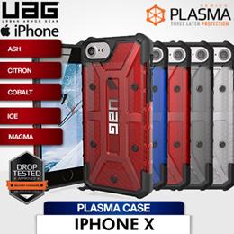 UAG iPhone X Plasma Case Ash / Citron / Cobalt  / Ice / Magma / Drop Test Approved