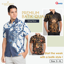 👔 Rianty Batik Men Sale - 45% Off - Men Batik Shirts 👔