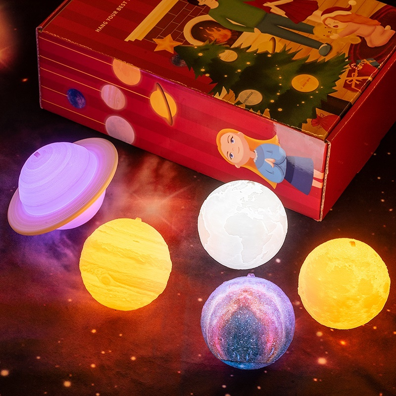 Qoo10 2019 New Dropship Christmas Lights Moon Lamp Childrens Night Light Chr Furniture Deco