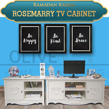 [New Product] Rosemarry Tv Cabinet 800/1200