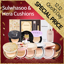 ★Qoo10 Day Speical☆Sulwhasoo And Hera☆ New Cushon And Refill [+Free Sample]
